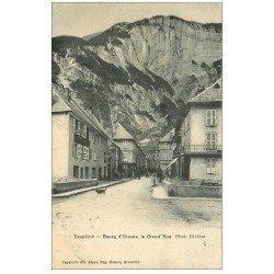 carte postale ancienne 38 BOURG D'OISANS. Grand'Rue 1907