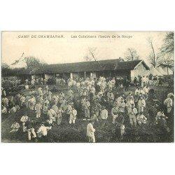 carte postale ancienne 38 CAMP DE CHAMBARAN. La Soupe aux Cuisines