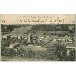 carte postale ancienne 38 CHAMPIER. Vue générale