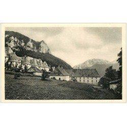 carte postale ancienne 38 CHARTREUSE. Ancienne Distillerie