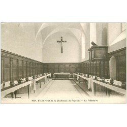 carte postale ancienne 38 CHARTREUSE. Hôtel du Reposoir Réfectoire