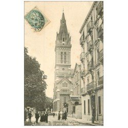 carte postale ancienne 38 GRENOBLE. Eglise Saint Bruno 1903