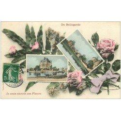 carte postale ancienne 01 Bellegarde. Pavillon et Donjon 1908