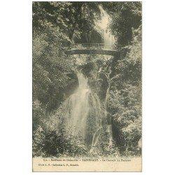 carte postale ancienne 38 SASSENAGE. Cascade du Parisien