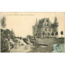 carte postale ancienne 38 SASSENAGE. Château des Côtes 1906
