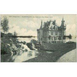 carte postale ancienne 38 SASSENAGE. Château des Côtes 1924