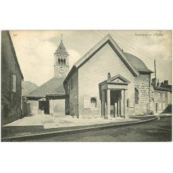 carte postale ancienne 38 SASSENAGE. L'Eglise
