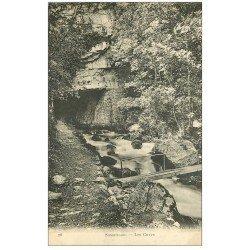carte postale ancienne 38 SASSENAGE. Les Cuves 1926
