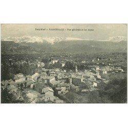 carte postale ancienne 38 SASSENAGE. Vue générale 1922