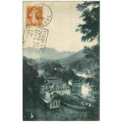 carte postale ancienne 38 URIAGE-LES-BAINS. 1925