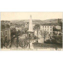 carte postale ancienne 38 VIENNE. Pyramide Plan de l'Aiguille 1916