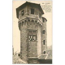 carte postale ancienne 38 VIENNE. Tour Maison Faugier rue des Orfèvres