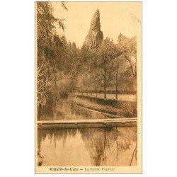 carte postale ancienne 38 VILLARD-DE-LANS. Roche Pointue