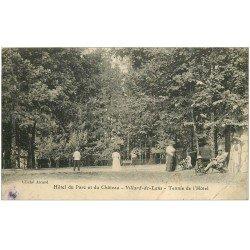 carte postale ancienne 38 VILLARD-DE-LANS. Tennis de l'Hôtel