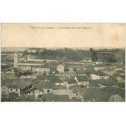 carte postale ancienne 38 VIRIVILLE