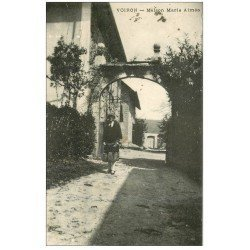 carte postale ancienne 38 VOIRON. Maiso Marie Aimée 1933
