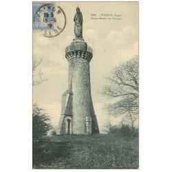 carte postale ancienne 38 VOIRON. Notre-Dame de Vouise 1929
