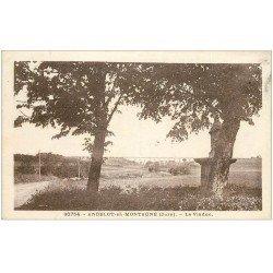 carte postale ancienne 39 ANDELOT-EN-MONTAGNE. Le Viaduc