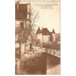 carte postale ancienne 39 ARBOIS. Ecolier ancien Presbytère 1933