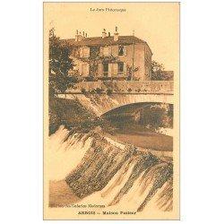carte postale ancienne 39 ARBOIS. Maison Pasteur