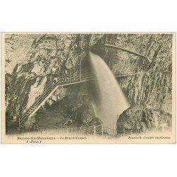 carte postale ancienne 39 BAUME-LES-MESSIEURS. Grande Cascade