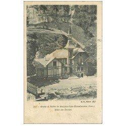 carte postale ancienne 39 BAUME-LES-MESSIEURS. Hôtel des Grottes 1910
