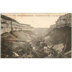 carte postale ancienne 39 BAUME-LES-MESSIEURS. La Vallée 1923