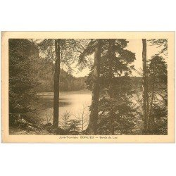 carte postale ancienne 39 BONLIEU. Bords du Lac