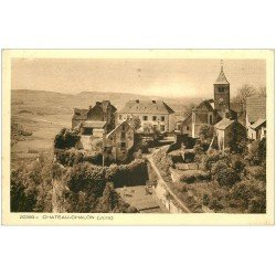 carte postale ancienne 39 CHATEAU-CHALON. Village 20583