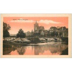 carte postale ancienne 39 DOLE. Pont du Pasquier