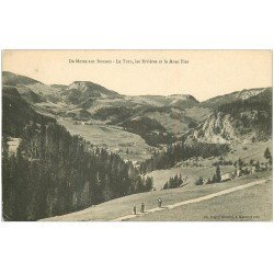 carte postale ancienne 39 LE TURU. Les Rivières et le Mont Fier