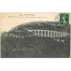 carte postale ancienne 39 MOREZ. Grand Viaduc 1906