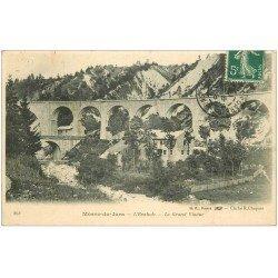 carte postale ancienne 39 MOREZ. Le Grand Viaduc 1908