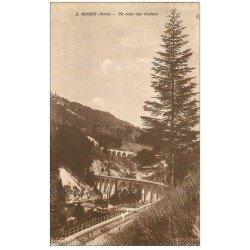carte postale ancienne 39 MOREZ. Un coin des Viaducs