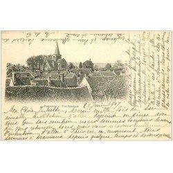 carte postale ancienne 02 BEAURIEUX. Vue générale 1907