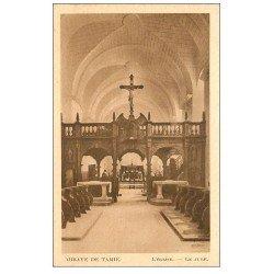 carte postale ancienne 73 ABBAYE DE TAMIE. L'Eglise et Jubé
