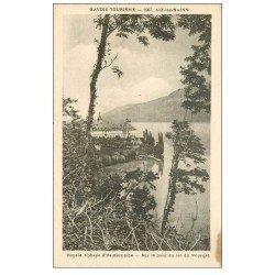 carte postale ancienne 73 ABBAYE D'HAUTECOMBE LAC DU BOURGET