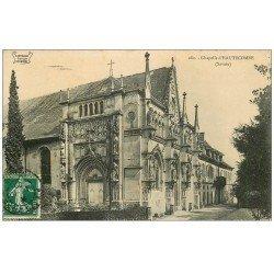 carte postale ancienne 73 ABBAYE D'HAUTECOMBE. La Chapelle 1909