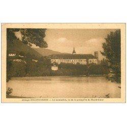 carte postale ancienne 73 ABBAYE D'HAUTECOMBE. Le Monastère 1932