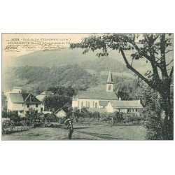 carte postale ancienne 73 AIGUEBELETTE. Le Village 1914