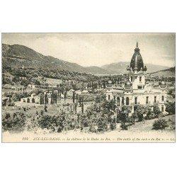 carte postale ancienne 73 AIX-LES-BAINS. Château Roche du Roi 1921