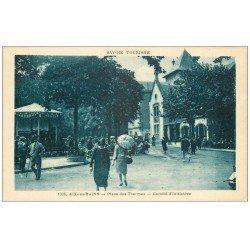 carte postale ancienne 73 AIX-LES-BAINS. Comité d'Initiative Place des Thermes