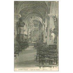 carte postale ancienne 73 ALBERTVILLE. Eglise de Conflans