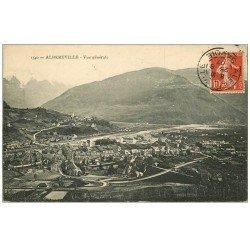 carte postale ancienne 73 ALBERTVILLE. Vue générale 1907