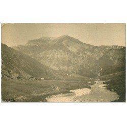 carte postale ancienne 73 BEAUFORT. Les Châlets de la Gittaz 1938