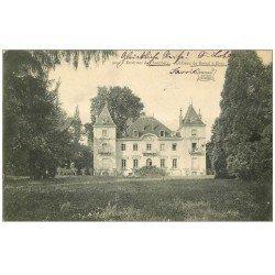 carte postale ancienne 73 BISSY. Château de Barral 1907