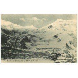 carte postale ancienne 73 BOSSES DU DROMADAIRE ET DÔME DU GOÛTER