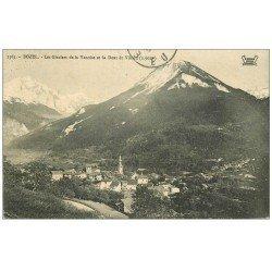 carte postale ancienne 73 BOZEL. Glaciers Vanoise et Dent du Villard 1911
