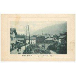 carte postale ancienne 73 BRIDES-LES-BAINS. Glaciers de la Vanoise