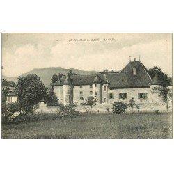 carte postale ancienne 73 CHALLES-LES-EAUX. Le Château 1921
